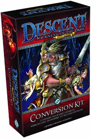 Descent: Journeys in the Dark 2nd Edition Conversion Kit DJ02 - Descent: viaje a las tinieblas. Kit de conversión: Ffg: Amazon.es: Juguetes y juegos