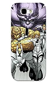 Hot Design Premium IxMiDkI248lWmSF Tpu Case Cover Galaxy Note 2 Protection Case(variant Cover For Fantastic Four 601 Ff 13 Ic Vine)