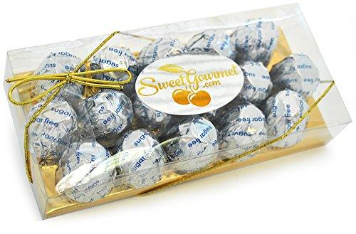 Asher Cordial Cherry (SweetGourmet Sugar Free Milk Chocolate Covered Cordial Cherry (8oz Gift Box))