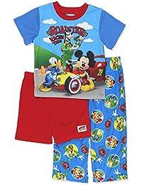 Toddler Boys Mickey Mouse 3-Piece Pajama Set