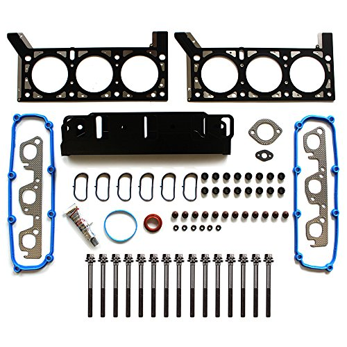 ECCPP Head Gasket Sets W/Bolts Automotive Replacement Engine Head Gasket Kits for Jeep Wrangler 2007-2011 3.8L V6 OHV 12v VIN - Engine Kit Jeep