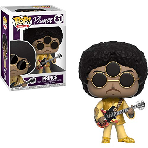 Funko Prince [3rd Eye Girl]: Prince x POP! Rocks Vinyl Figure & 1 POP! Compatible PET Plastic Graphical Protector Bundle [#081 / 32250 - B]