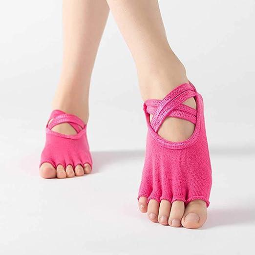CWAHMJ Calcetines De Yoga para Mujer, Calcetines De Cinco ...
