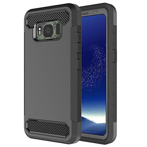 Anccer Galaxy S8 Active Case Tough Hybrid Armor Anti