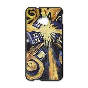 Abstract Art Unique Black HTC M7 case