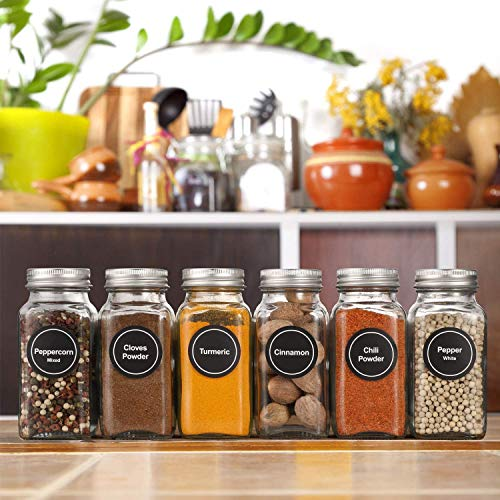 Take 15% off glass spice jars