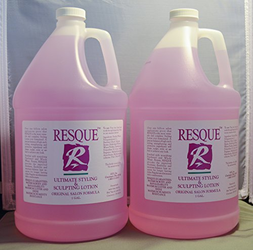 Resque Ultimate Styling & Sculpting Lotion Gallon/128oz (2 pack) by Resque
