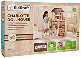 KidKraft Charlotte Dollhouse with EZ Kraft Assembly Children, Multicolor