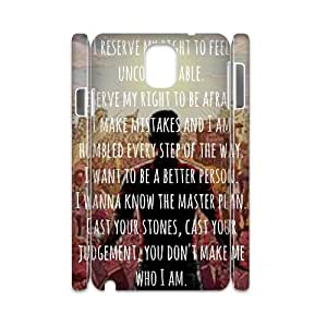 Customized A Day to Remember 3D Phone Case, Personalized Hard Back Phone Case for Samsung Galaxy Note 2 N7100 A Day to Remember