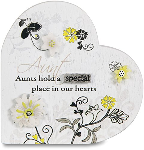Pavilion Gift Company 66313 Aunt Self-Standing Plaque, 3-...