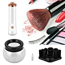 DeepDream Makeup Brush Cleaner Spinner Automatic Clean and Dry in Seconds for All Size Makeup Brushes Electric Makeup Brush Cleaning Tool