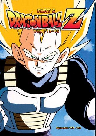 Dragon Ball Z - Part 5 Anime DVD English Dub