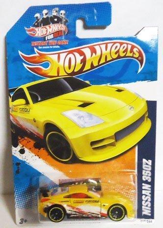 2011 Hot Wheels NISSAN 350Z YELLOW Nightburnerz series 2 of 10, #112 (Best 350z Interior Mods)