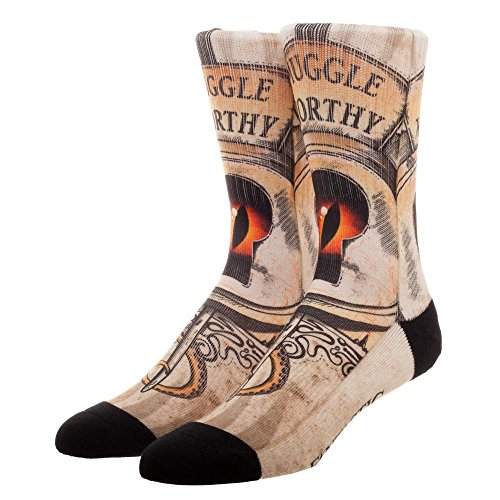 Fantastic Beasts and Where to Find Them Muggle Worthy Sublimated Adult Crew Socks