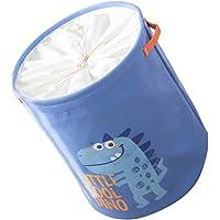 TOPBATHY Large Laundry Basket Drawstring Washing Basket Foldable Fabric Laundry Basket Clothes Bag Storage Washing…