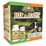 Dog Arthritis Aid – Hip and Joint Supplements for Dogs with Collagen Chondroitin MSM Vitamins Fish Oil and Glucosamine for Dogs + Natural Boswellia & Turmeric for Dogs – 120 Tabs for Dog Joint Pain