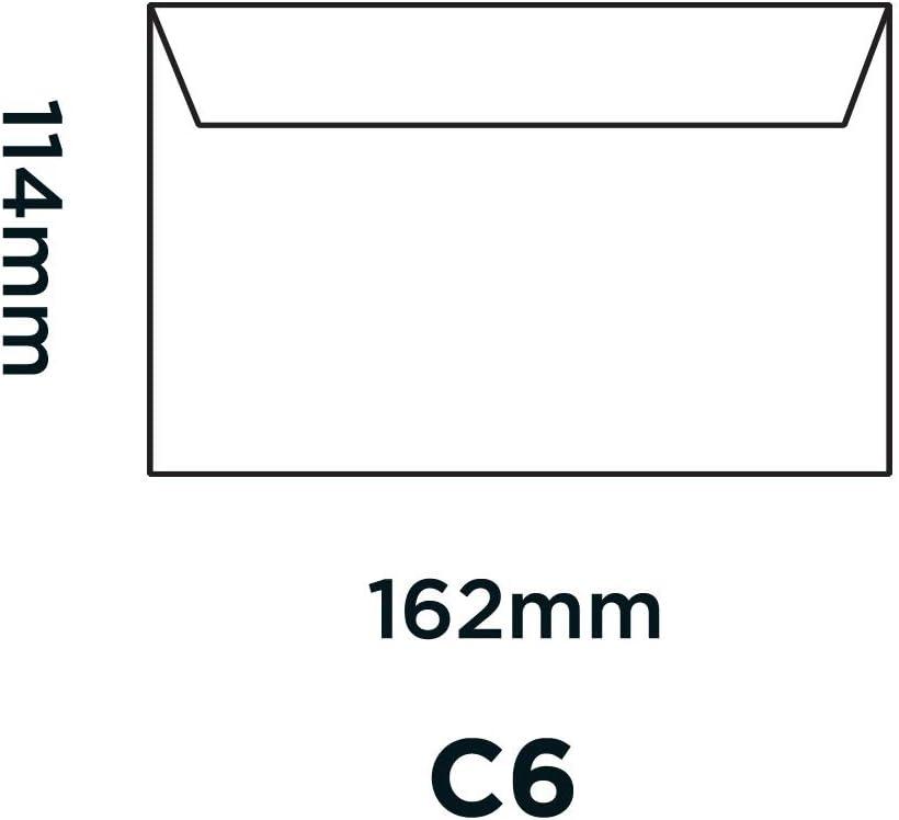 Argent M/étallique 15112 Bo/îte de 25 Blake Creative Shine C6 114 x 162 mm 130 g//m/² Enveloppes Bande Adh/ésive