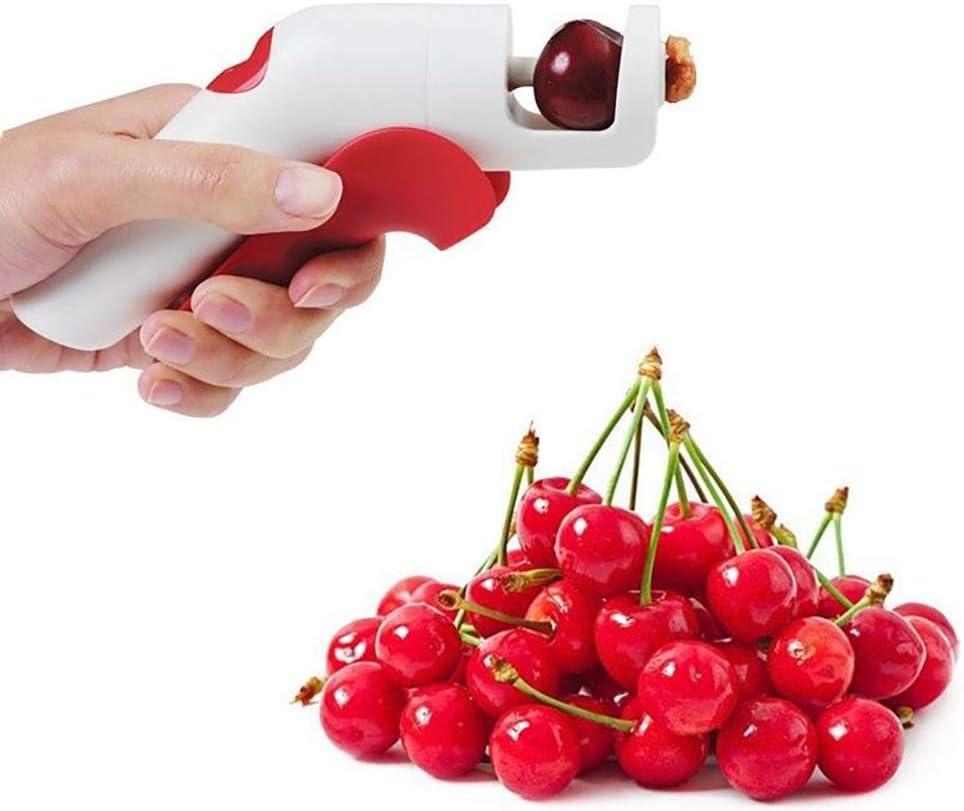 Yunobi Herramienta de mano para extraer semillas de cerezo y aceitunas