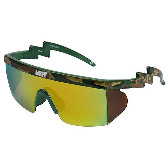434e1c669d Neff Brodie Shades - Gafas de sol para hombre, diseño de camuflaje, color  verde: Amazon.es: Ropa y accesorios