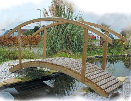 Del puente de estanque - puentes de madera Garden: Amazon.es: Jardín