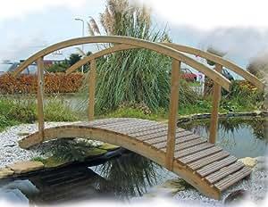 Del puente de estanque - puentes de madera Garden