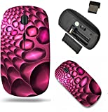 Liili Wireless Mouse Travel 2.4G Wireless Mice with USB Receiver, Click with 1000 DPI for notebook, pc, laptop, computer, mac book Abstract light background best viewed many details when at full size