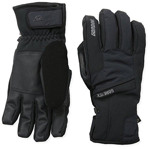 Gordini Men's Men's Challenge XIII Waterproof Insulated Gloves, Black, Large