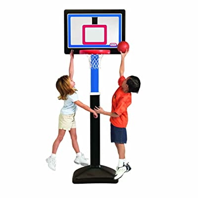Little Tikes Just Like The Pros Basketball Set: Toys & Games