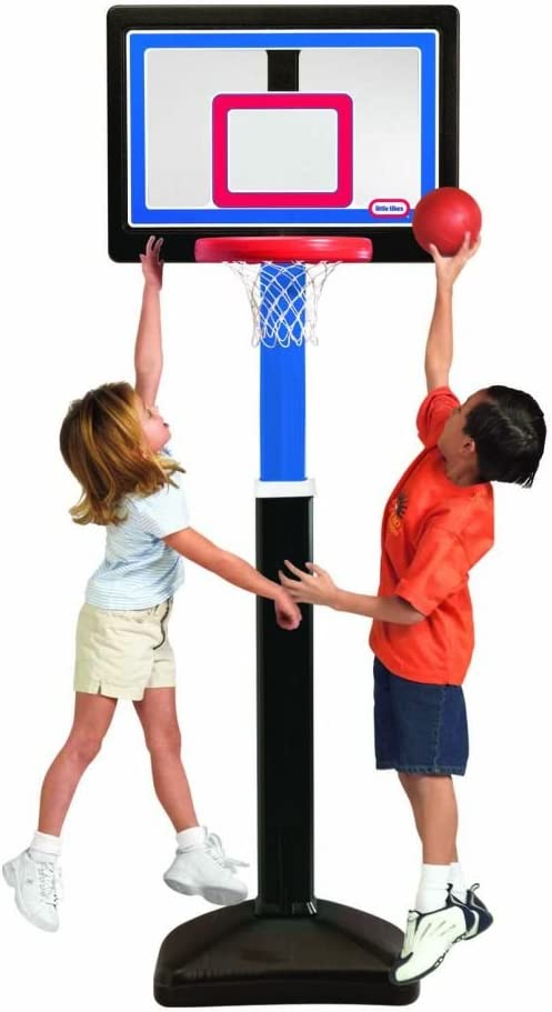 Little Tikes Just Like The Pros Basketball Set