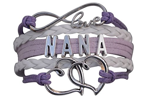 Nana Infinity Bracelet - Choice of 3 Colors