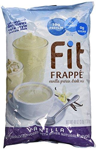 (Big Train Vanilla Fit Frappe (Coffee Free) 3lb Single Bag)