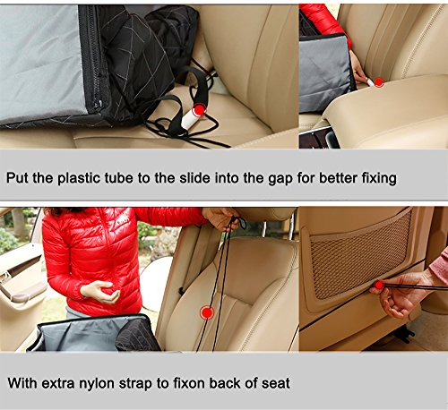 Systond Pet Dog Car Seat Cover Waterproof Booster Seat Carrier Protector 2 in 1 Deluxe Cat Front Seat Case Cushion with Non- Slip Backing for Travel Outdoor Boosterseat02 by Systond (Image #6)