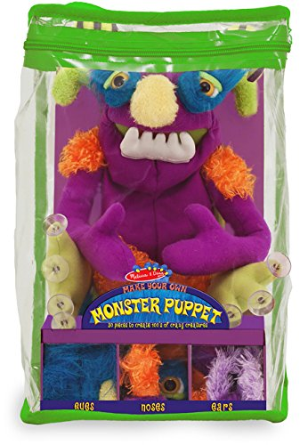 Make-Your-Own Monster Puppet, Teaching Toys, 2017 Christmas Toys (Puppet Make Your Monster Own)