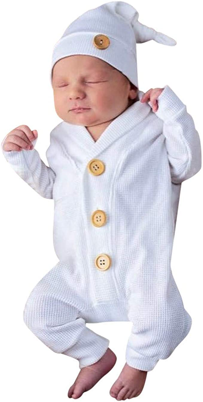 Unisex Infant Toddler Cute Baby Romper Cotton Casual Funny Pattern Summer Ouffit