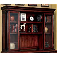 Furniture of America CM-DK6255H Strandburg Computer Hutch Miscellaneous-Home Office Desk