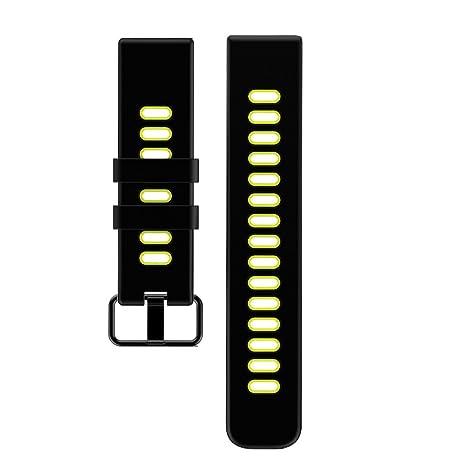 Willful Reloj inteligente Reemplace la correa por SW018/GV68 (verde)