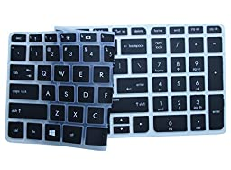 CaseBuy Semi-Black High Quality Ultra Thin Soft Silicone Gel Keyboard Protector Cover Skin for HP Pavilion ENVY 15 series / ENVY m6-k*** 17-j*** 17t-j*** 17-e*** m7-j*** series Us Layout (Please DOUBLE CHECK Your Model) - Retail Packaging