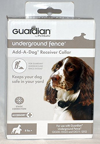 (Guardian by PetSafe In-Ground Fence Receiver Collar Works with Guardian Underground Fence)