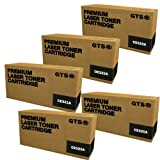 GTS ? 5 Pack Compatible Replacement Toner Cartridges for HP CE320A, CE321A, CE322A, CE323A (HP 128A), Office Central
