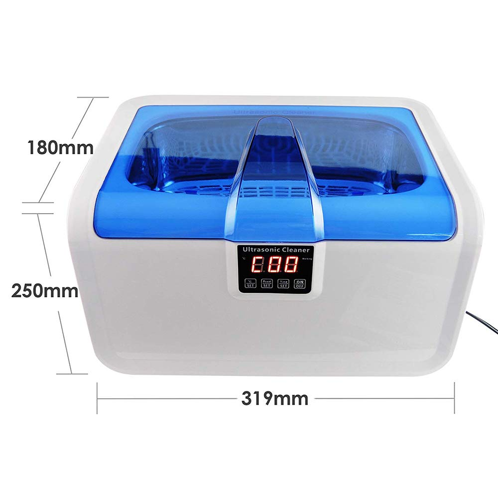 Denture Cleaner CE-7200A Heatable/Power Adjustable Mini Ultrasonic Color USB Charging Contact Lens Contact Lens Cleaner