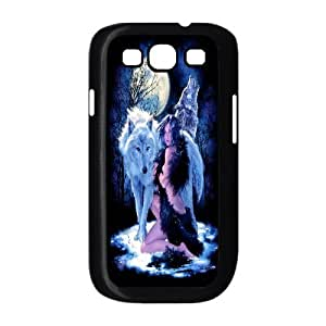 JenneySt Phone CaseAnimal Wolf and Moon For Samsung Galaxy S3 -CASE-11