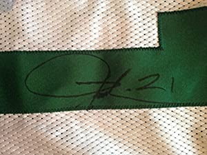 Ladainian Tomlinson Jets Chargers signed game issued Reebok jersey auto PSA COA