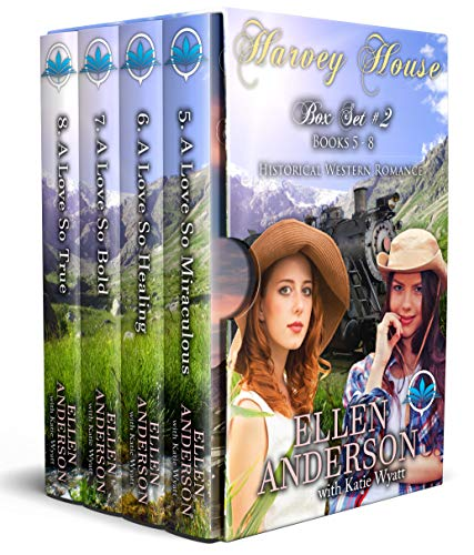Harvey House Box Set # 2 Books 5 - 8: Historical Western Romance (Harvey House Series Book ()