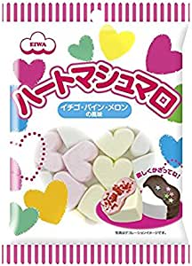 Eiwa Heart Shaped Marshmallow, 65 g
