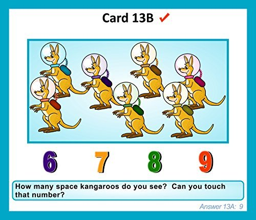 Gifted Learning Flash Cards Bundle - Kindergarten-in-A-Box - Math Concepts, Thinking & Problem Solving, Working Memory, Following Directions (Set 1) by TestingMom.com (Image #3)