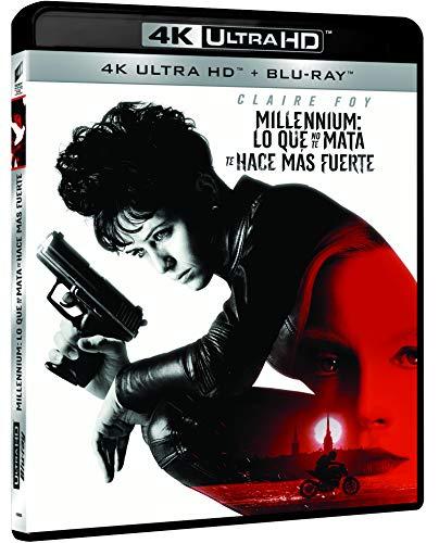 Millennium Lo Que No Te Mata Te Hace Mas Fuerte (4K UHD + BD) [Blu-