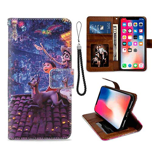 Coco Flap - Wallet Case Compatible Apple iPhone Xs Max (2018) [6.5