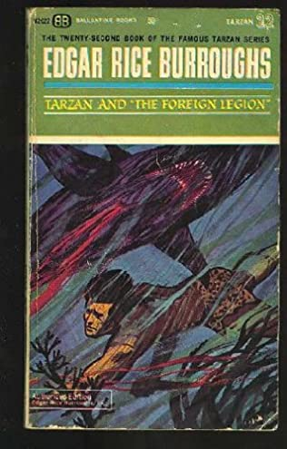 book cover of Tarzan and the Foreign Legion