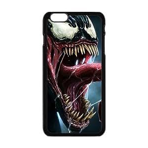 SKULL venom spiderman Phone Case for Iphone 6 Plus hjbrhga1544
