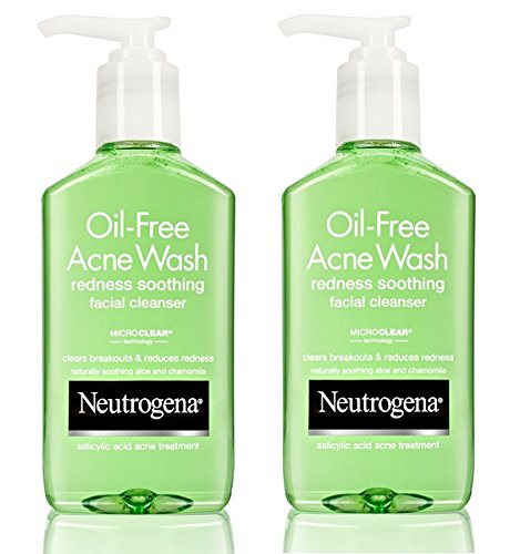 Neutrogena Oil-Free Acne Wash Redness Soothing Facial Cleanser, 6 Ounce (Pack of 2) Review